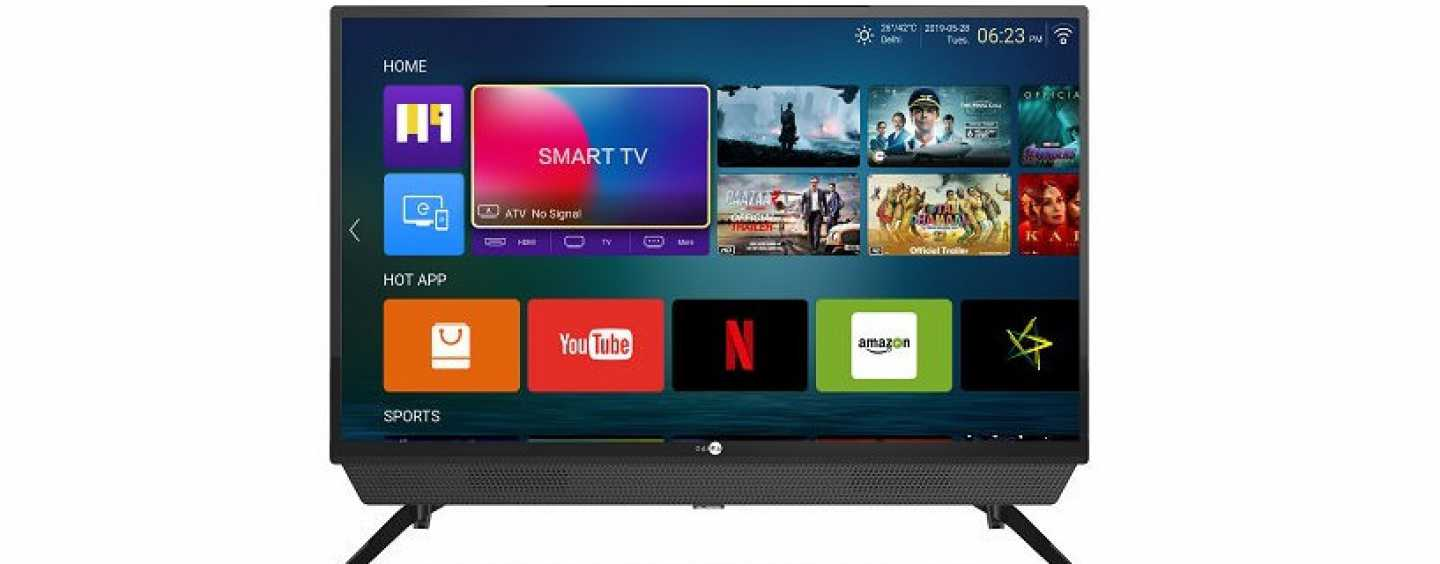Daiwa D32SBAR 32-Inch Smart TV With Inbuilt Soundbar Launched For Rs 12,990