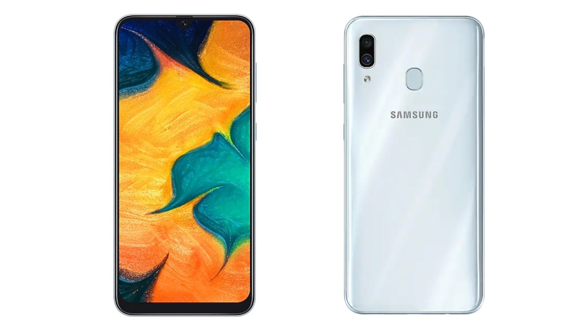 Samsung Galaxy A30 Gets a New White Colour Variant in India