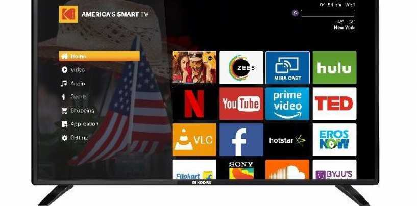 Kodak Launches 43-Inch And 50-Inch Smart TVs Under XPRO Range At Prices Starting Rs 20,999