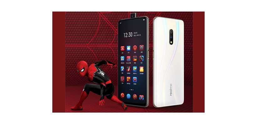 Realme X Spiderman Edition With Limited Edition Themes And Special Retail Box To Launch On July 9