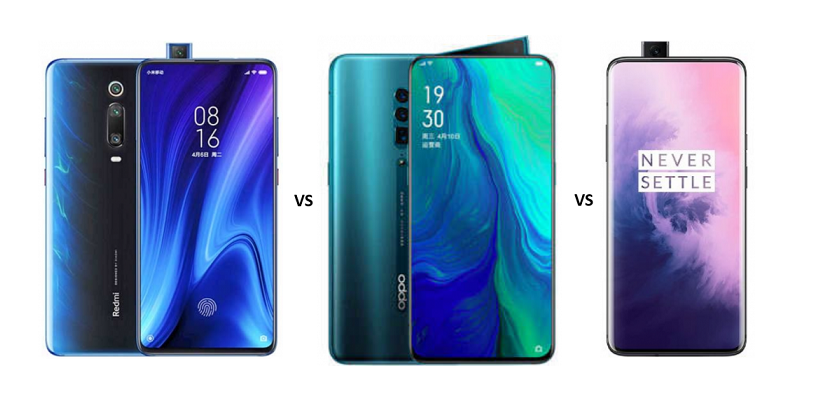 Redmi K20 Pro vs Oppo Reno 10x Zoom vs OnePlus 7 Pro: Yet Another Battle of The Flagship Smartphones