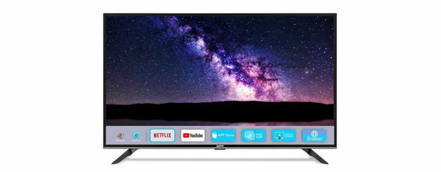 Sanyo Launches Nebula Series Smart TVs In India; Prices Start At Rs 12,999