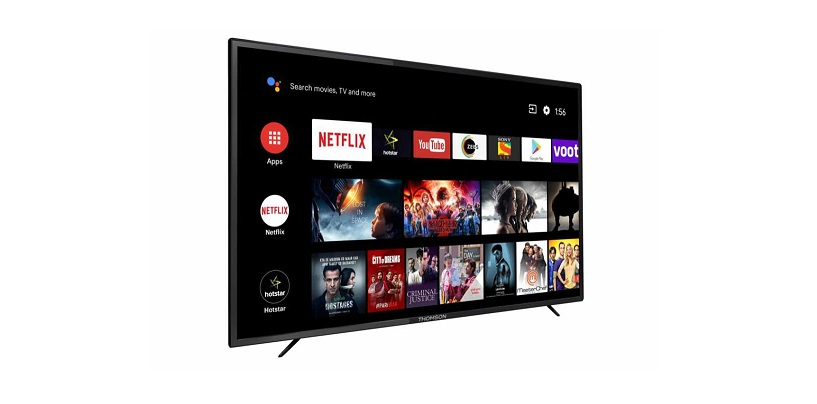 Thomson Launches Its First Premium 65-Inch Android TV In India For Rs 59,999