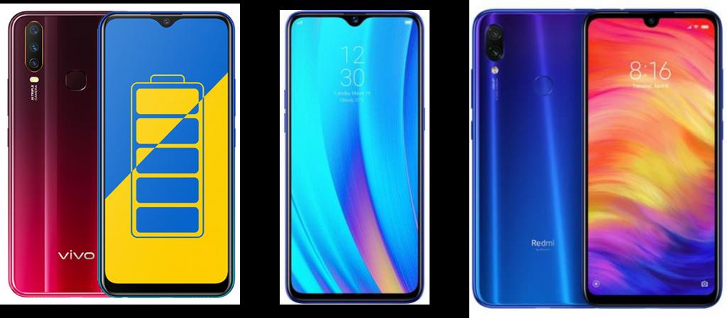 Vivo Y15 vs Realme 3 Pro vs Redmi Note 7 Pro