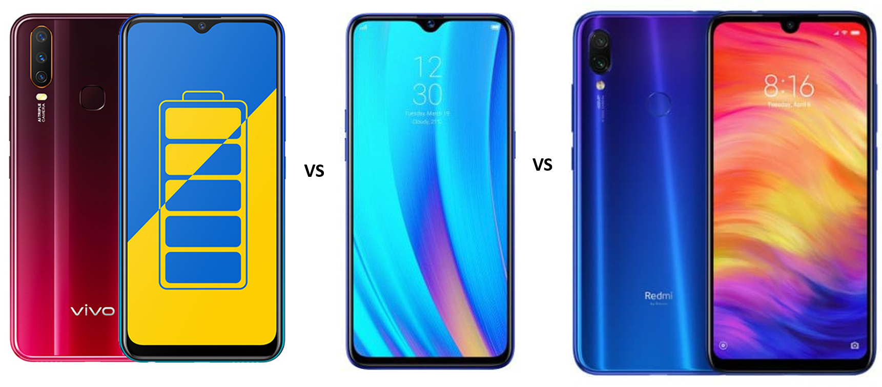 Vivo Y15 vs Realme 3 Pro vs Redmi Note 7 Pro: Which one should you buy?