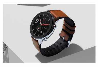 Amazfit GTR Smartwatch With Built-In GPS And 24-Day Battery Life Launched For Rs 10,999
