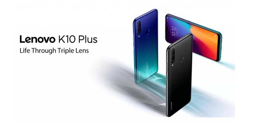 Lenovo K10 Plus With Snapdragon 632 And Triple Camera Setup Launched For Rs 10,999