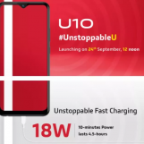 Vivo U10, A Budget Segment Smartphone, To Launch In India On September 24