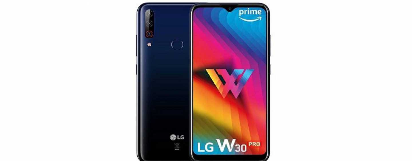 LG W30 Price, Features and Specifications in India