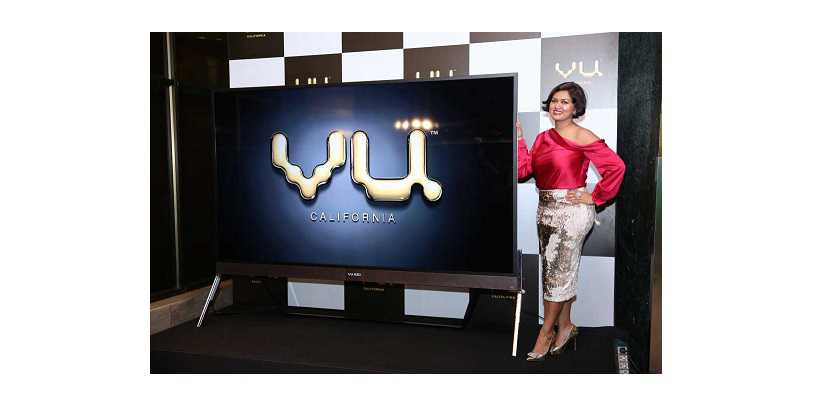 Vu Televisions emerge as market leaders in 4K and in large size category in India