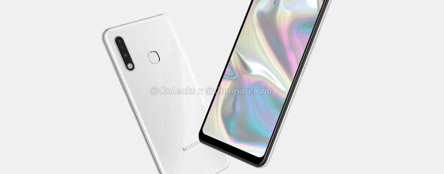 [CompareRaja EXCLUSIVE] First look of Samsung Galaxy A70e leaked 5K Renders