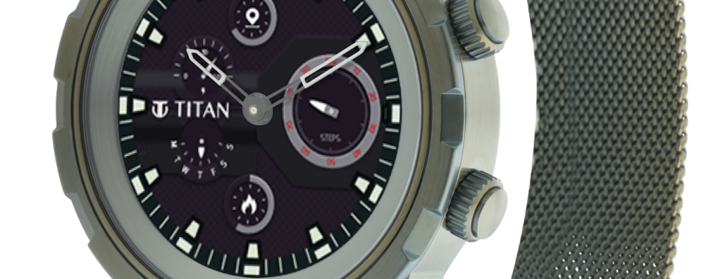 Titan Launches Connected X Full-Touch Smartwatch In India for Rs. 14,995