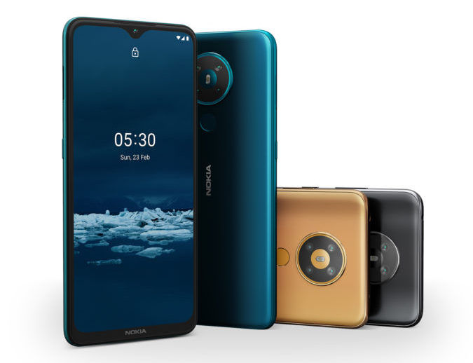 HMD Global Launched Nokia 5.3 And 1.3 With Waterdrop Notch And Stock Android