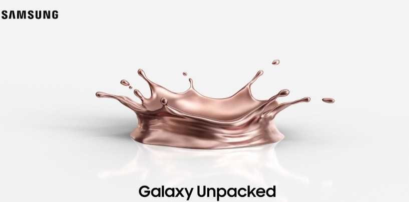 Samsung Galaxy Unpacked 2020 Event To Take Place On August 5th