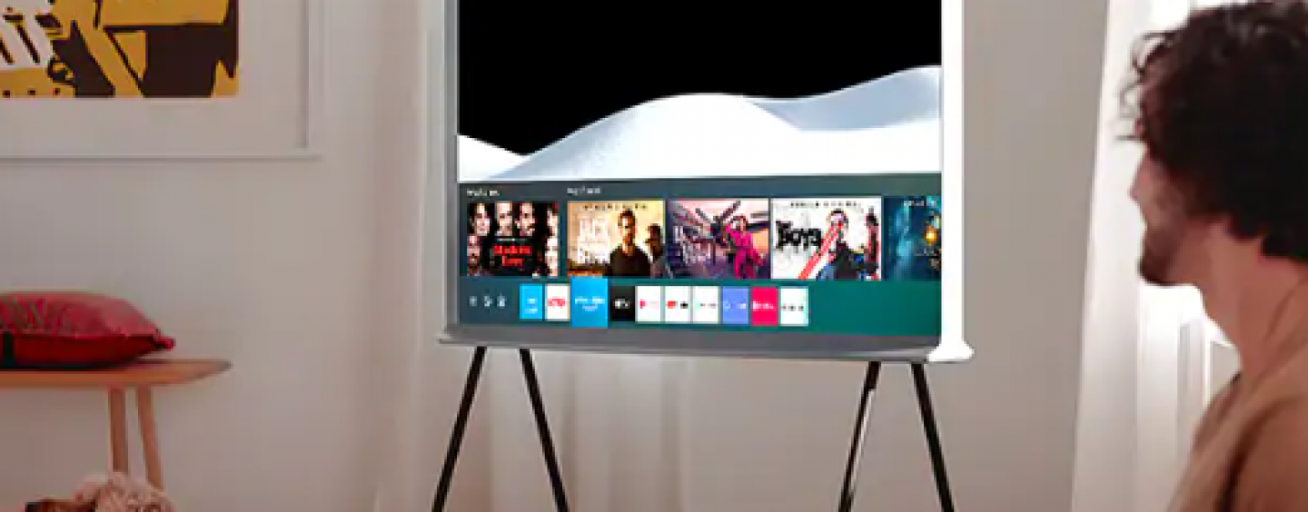Samsung's Ultra-Premium The Serif TV Line-Up Launched With A Unibody Design