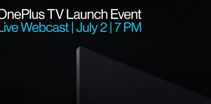 OnePlus To Launch Affordable TV Range, Prices Starting At Rs. 20,000