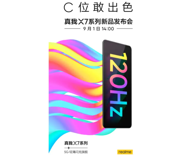 Realme Will Introduce X7 Smartphone Series With AMOLED Panel On September 1