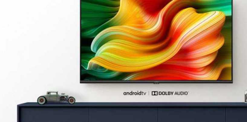 Realme Introduced A New 55-Inch SLED TV With 4K Resolution