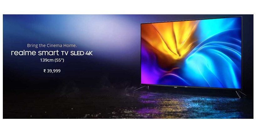 Realme Revealed The Smart SLED 4K TV And A Dynamic 100W Soundbar In India