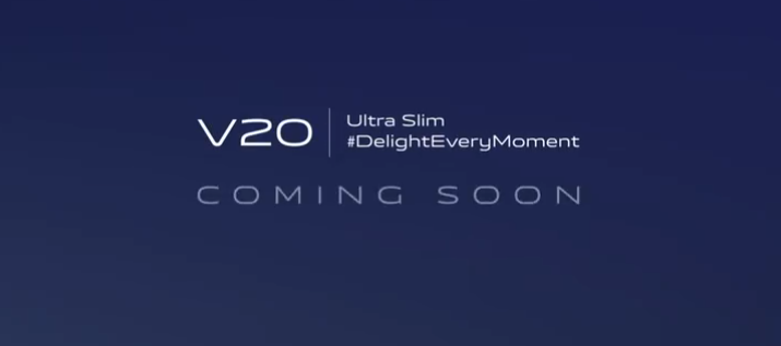 Vivo Released A Teaser For It's V20 Line-Up In India, Expected To Be Launched On Oct 12