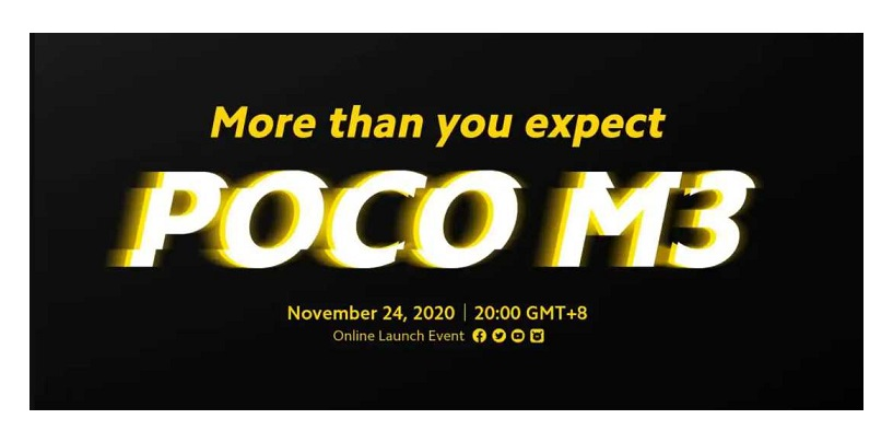 POCO M3 Is Expected To Launch With Snapdragon 662 And A Triple-Camera Array