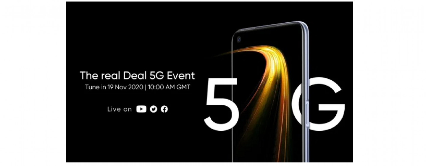 Realme Is Expected To Launch Its Realme V5 5G As Realme 7 5G In The UK On  Nov 19