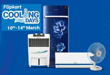 Flipkart Cooling Days Sale: Great Deals on AC's, Refrigerators Coolers
