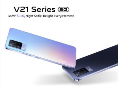 Vivo Unveiled V21 5G In The Indian Market; Will Be Sold Through Flipkart