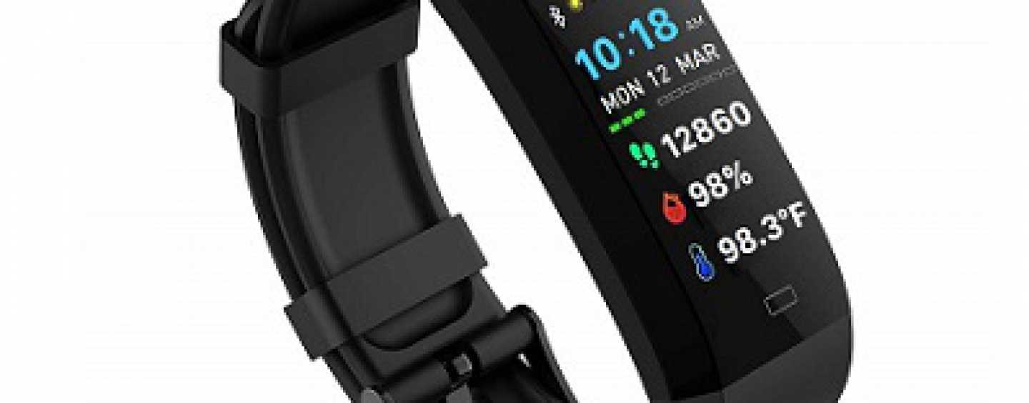GOQii Has Introduced Vital 4 Fitness Tracker In The Indian Market With SpO2 and Temperature Sensor; A Few Details
