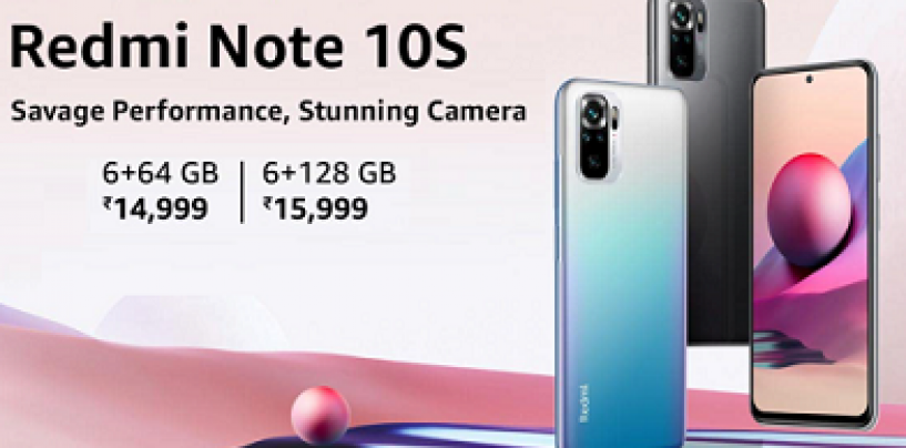 Xiaomi Launched Redmi Note 10S In The Indian Market Powered By Helio G95: Here Are More Details