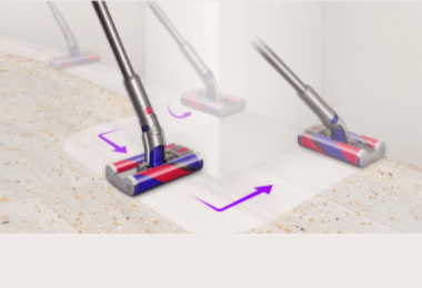 Dyson Unveiled Its All-new Omni-Glide Vacuum Cleaner & Fluffy Cleaner Head For The Indian Market
